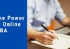 The Power of Online MBA Course