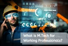What is M.Tech for Working Professionals?