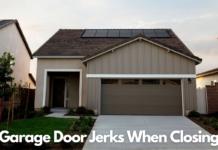 Garage Door Jerks When Closing