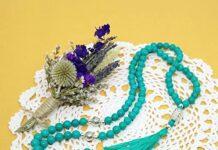 This 10-mm muslim prayer bead