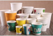 PRINTED PAPER AND PAPER CUPS FOR DECORATION