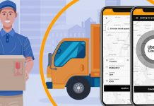 uber for courier service app