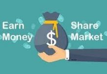 how to earn money from share market